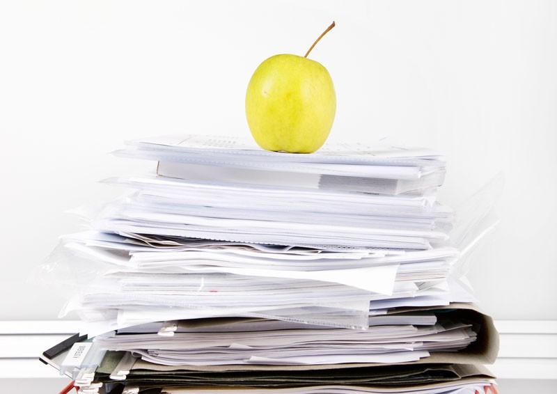 Den Arbeitsplatz richtig organisieren und gestalten