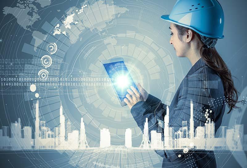 Wie digitale Daten auf die Baustelle kommen