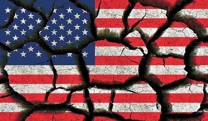 Scherbenhaufen USA
