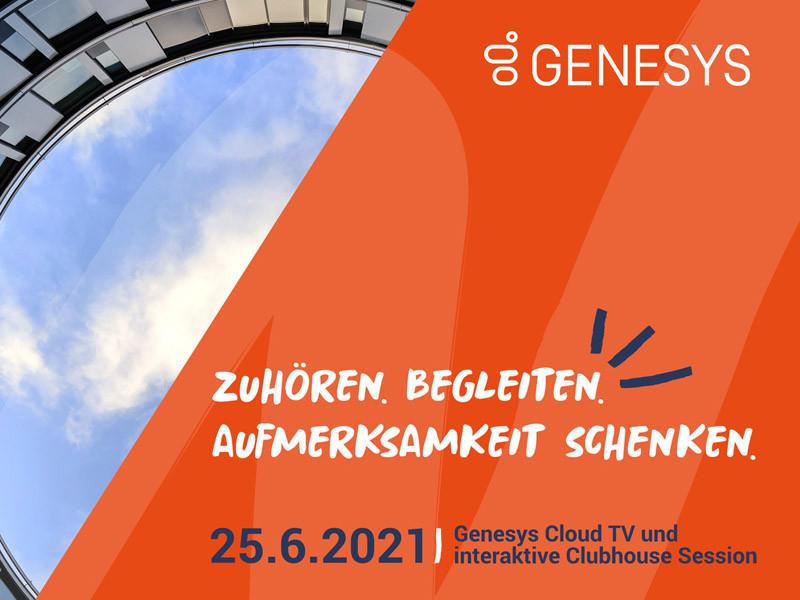 Veranstaltungstipp: Genesys Cloud TV Session