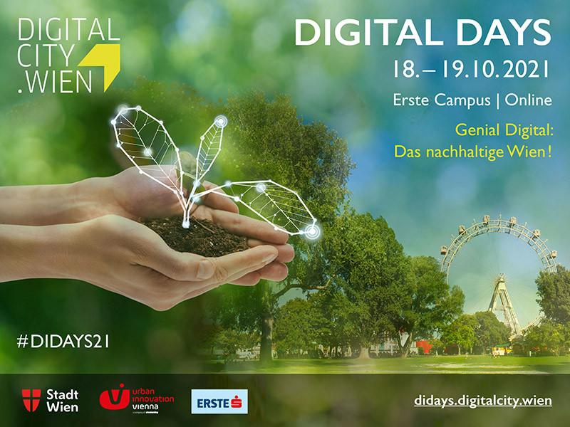 Digital Days 2021 – Genial Digital: Das nachhaltige Wien!