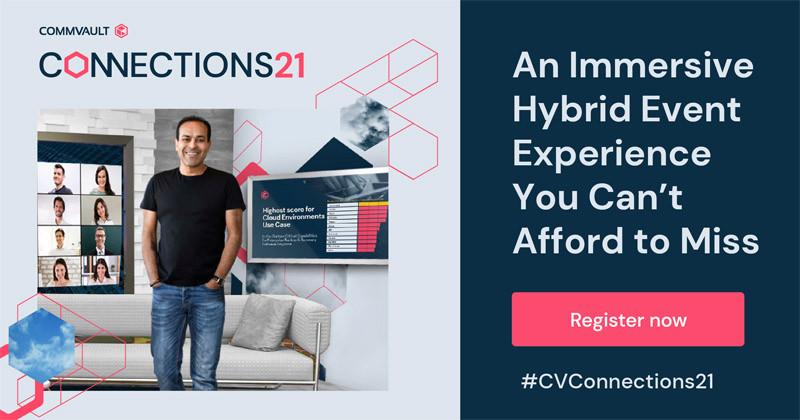 Commvault Connections21 – Jetzt kostenlos registrieren